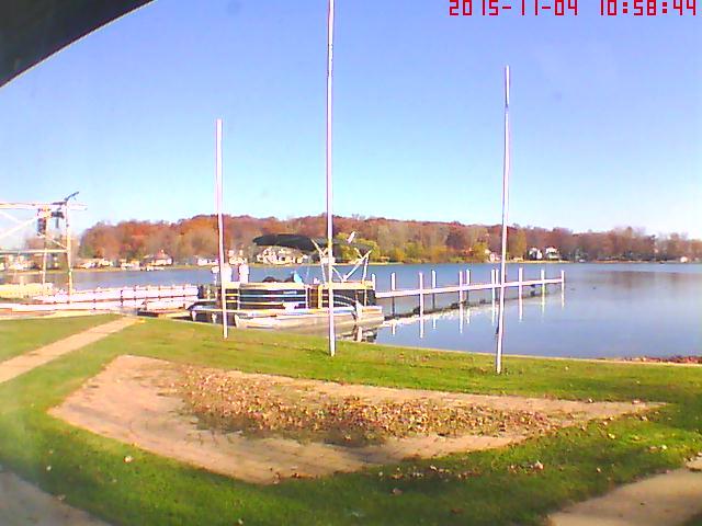 Clear Lake Steuben County Web Cam
